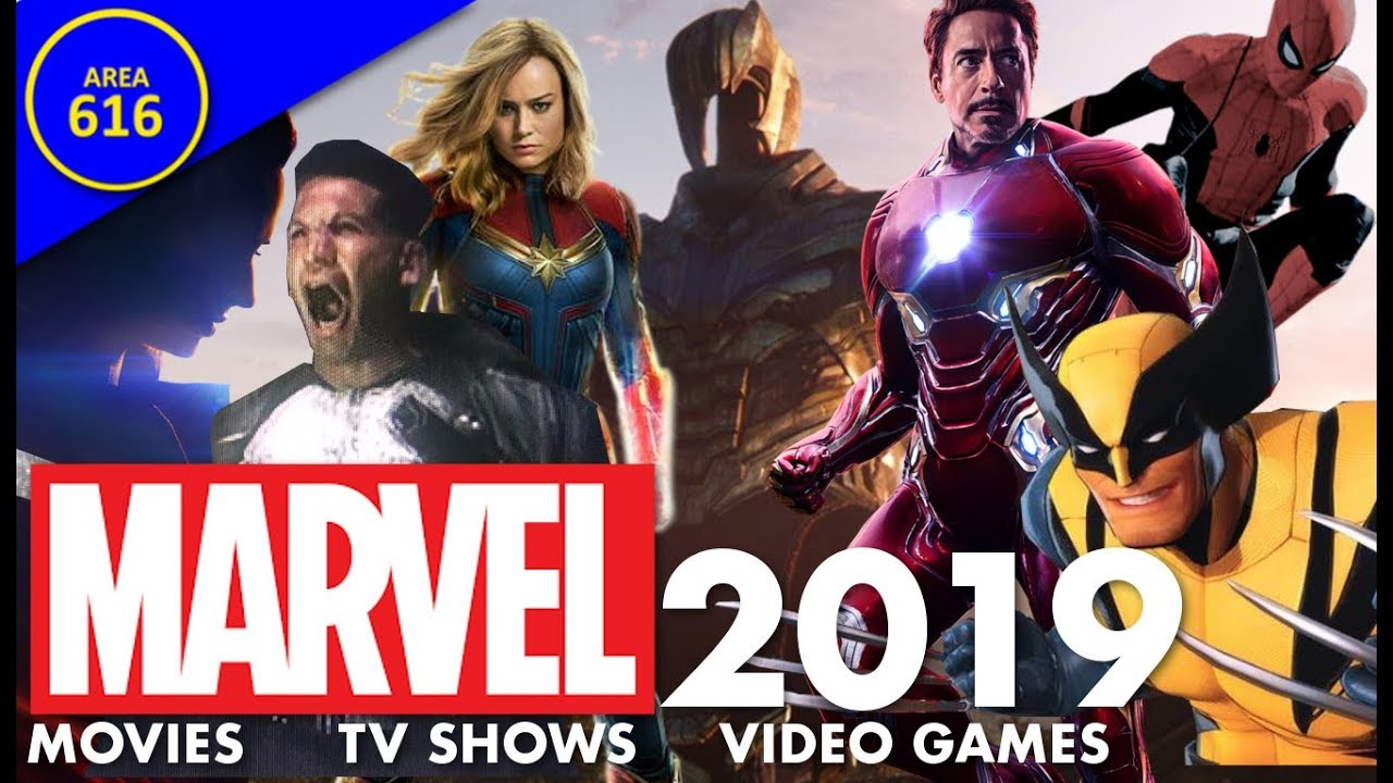Every Marvel Movie Tv Show Video Game Coming In 2019