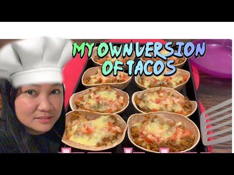 How to Make a Homemade Tacos? || Cherry Balane own version