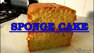 CLASSIC SPONGE CAKE FROM Chef Ricardo