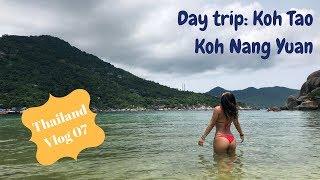 Thailand Vlog 07: Island hopping tour Koh Tao & Koh Nang Yuan