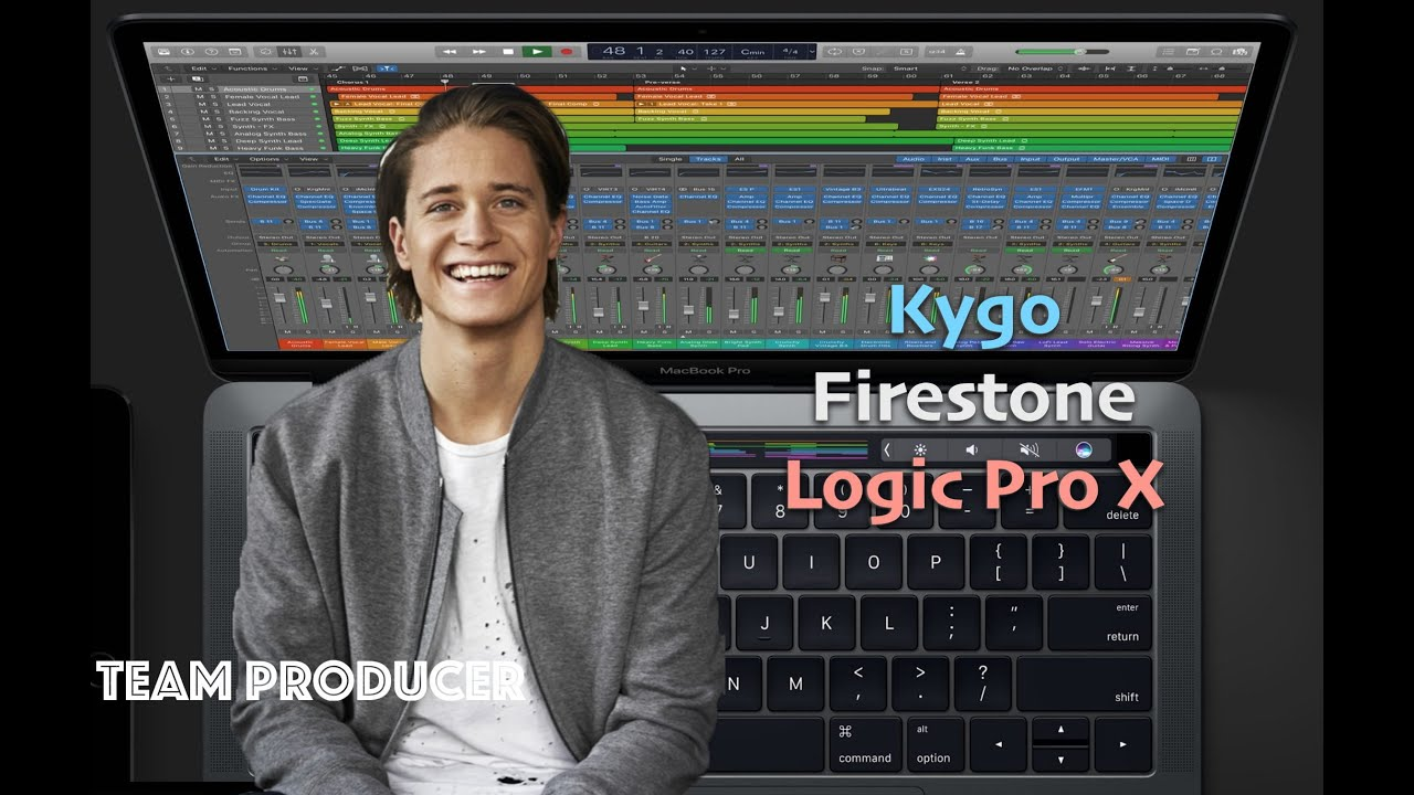 Kygo - Firestone (Logic Pro X Remake + Free download)