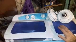 Подобрать и заменить редуктор на стиральной машине полуавтомат