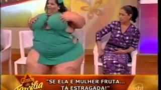 Repeat youtube video Mulher Fruta Pão no palco do programa Casos de Família 09/09/2011