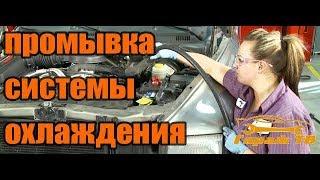 полная промывка системы охлаждения и замена радиатора