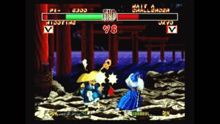 CGRundertow - SAMURAI SHODOWN ANTHOLOGY for PlayStation 2 Video Game Review
