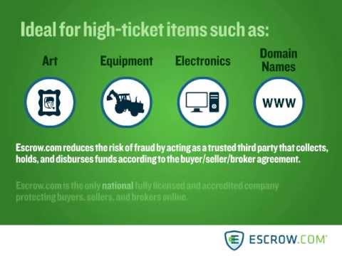 Escrow.com's Broker Service