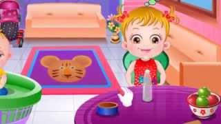 Малышка Хейзел: лечение десен - игра для девочек