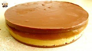 EASY NO BAKE SNICKERS CAKE RECIPE