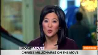 Bloomberg TV Wealthy Chinese Boom in Orange County CA, Chinese Cash Buyers