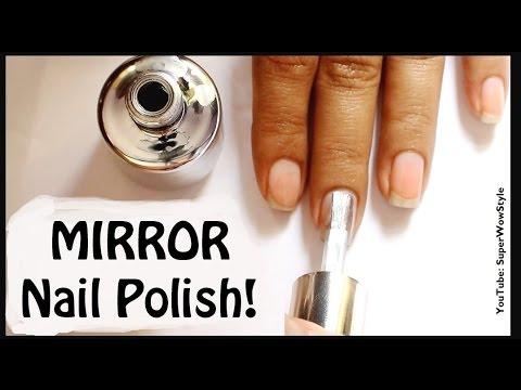 Mirror Nail Polish_ (Indian Fashion/ Beauty Blogger)_ superwowstyle Prachi
