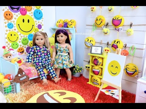 American Girl Doll Emoji Room