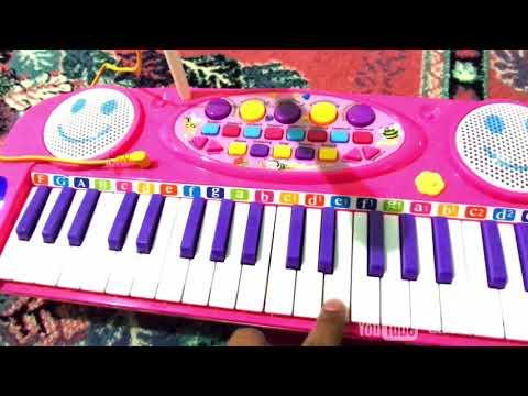 mainan piano keyboard elektronik karoke anak
