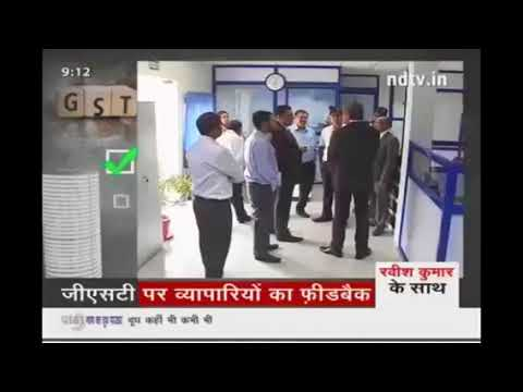 ndtv ravish kumar showing gst effect of business man in local street