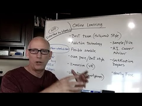 Episode 389 Scott Adams: The Future of Online Education with VR, Apps and Hollywood Teams