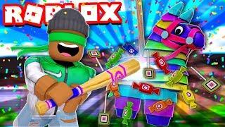 Eu abri 1 milhão doces em Roblox piñata Simulator!