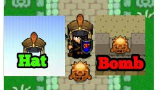 Pumpkin Bomb and Hats | Graal Classic Online