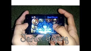 Nella kharisma - Jaran Goyang ( Real drum cover )