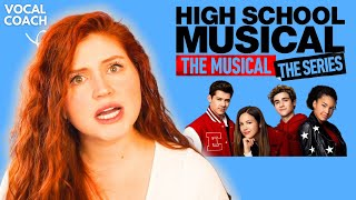 HIGH SCHOOL MUSICAL: THE SERIES I Vocal Coach Reacts! I HSMTMTS