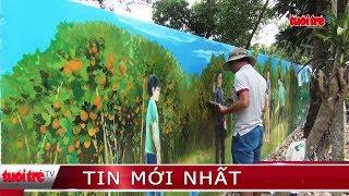 ⚡ Tin mới nhất | Làng bích họa Việt - Úc ven sông Tiền