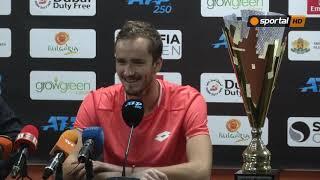 Даниил Медведев: Първоначално не харесах турнира, но сега мисля, че е страхотен