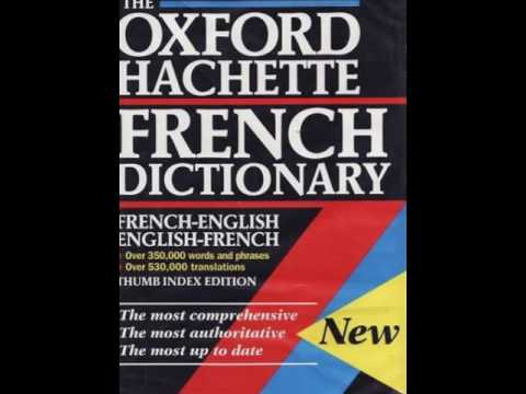 OXFORD  HACHETTE  FRENCH  DICTIONARY