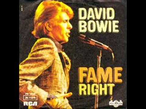 David Bowie - FAME [Pop-Rock] Isn't this one of the funkiest damn things EVER?