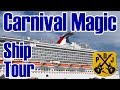 Carnival Magic Ship Tour - Our Narrated Video Tour - November & December 2017 - ParoDeeJay