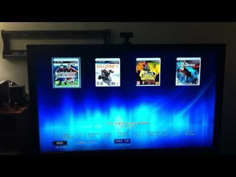 hack PS3 logo + run games from external hard drive