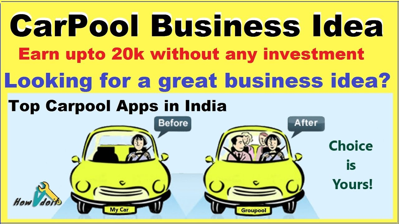 Car Pool Business Idea Best Apps For Car Pooling Apps Ola And