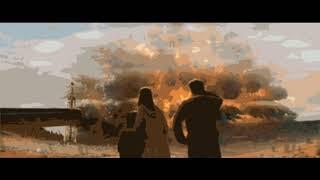 Музыка, разрушение, врыв, цунами, катастрофа