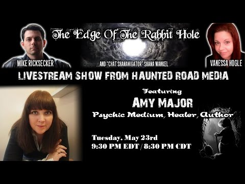 Earthbound Spirits and Astral Projection | Psychic Medium Amy Major | Edge Of The Rabbit Hole