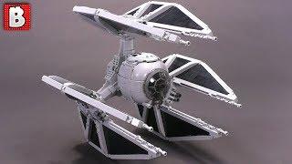 LEGO TIE Defender Custom Minifig Scale MOC