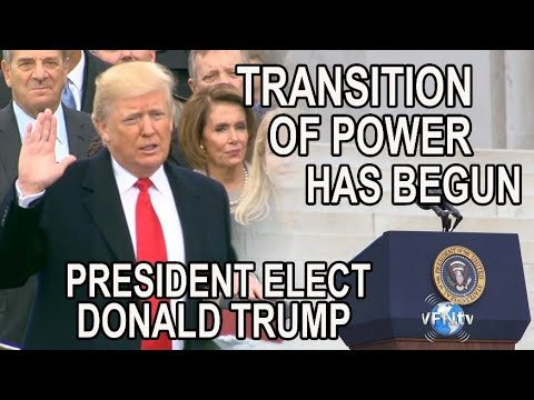 The Transition of Power has begun for President Elect Donald Trump and the Ensuing Process to come