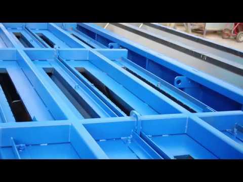 DB80 Jersey Barrier Steel Mould   KME-Steelworks   Steel Moulds for Precast  Concrete