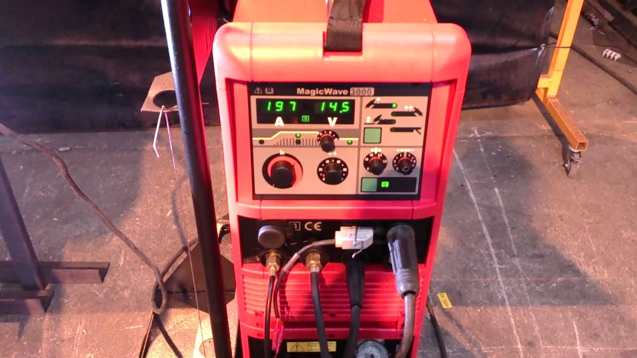 Fronius Magicwave 3000 Ac Dc Tig Welder Weld Test At 197