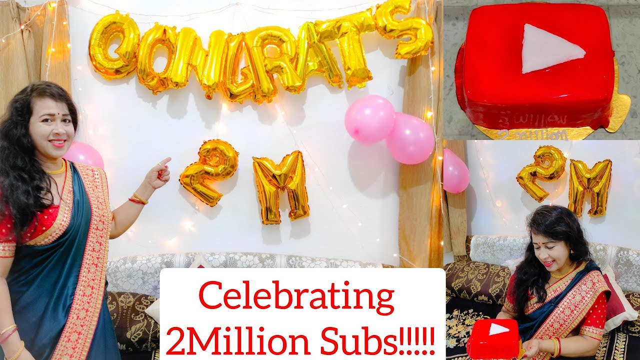 Thank You for 2 Million Subscribers!!! 2Million Celebration with Family | Tips Theatre