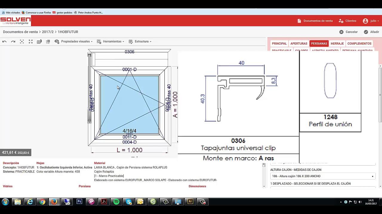 2 - Prefweb html - Cajón empostizado con marco solape 0004 - YouTube