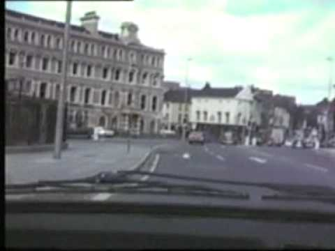 1986 Anglican Cathedral to Toxteth via city centre by car