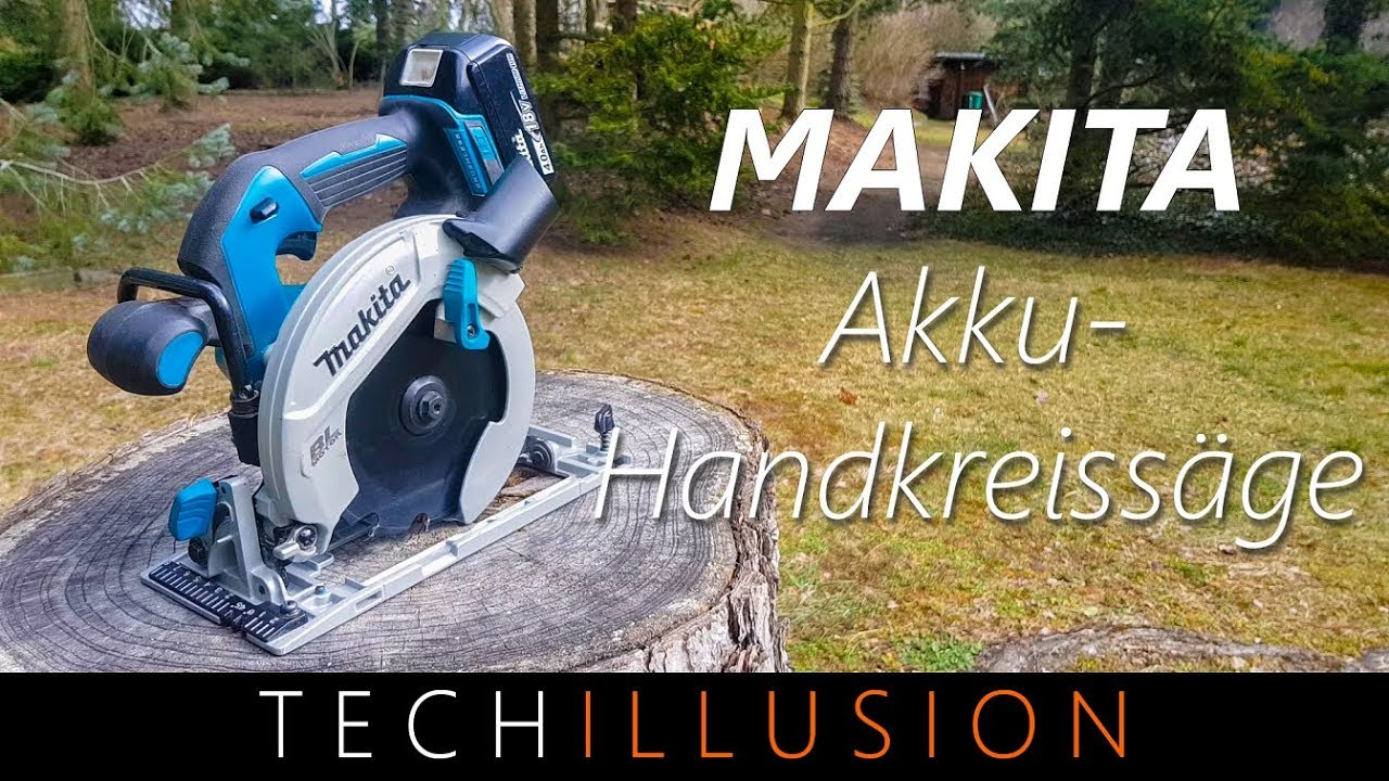 Profi Akku Handkreissage Von Makita Dhs680 Review Youtube