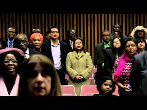 """Les chantres de l""""eglise Adventiste du 7eme jour de Philadelphie à Montreal."""