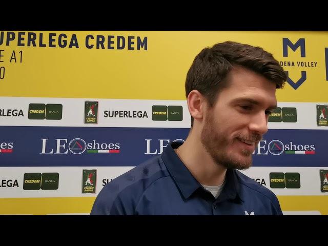 Matt Anderson in vista del match con Verona
