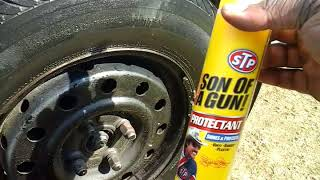 Stp tire shine test review back down memory lane