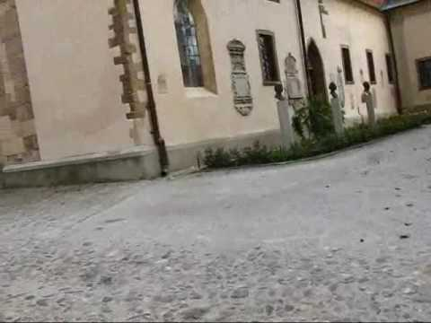 Slovenia Travel: Historic Square in Ptuj with Church and Rom
