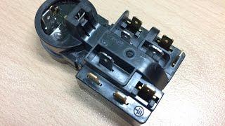 Пусковое реле компрессора холодильника.(Разборка пусковое реле компрессора NU1114Y или NS1114Y. Принцип работы в общих чертах и назначение позистора., 2016-02-26T14:16:27.000Z)