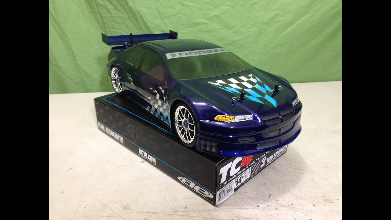 Painting a Dodge Stratus Body for my Team Associated TC4 Club Racer