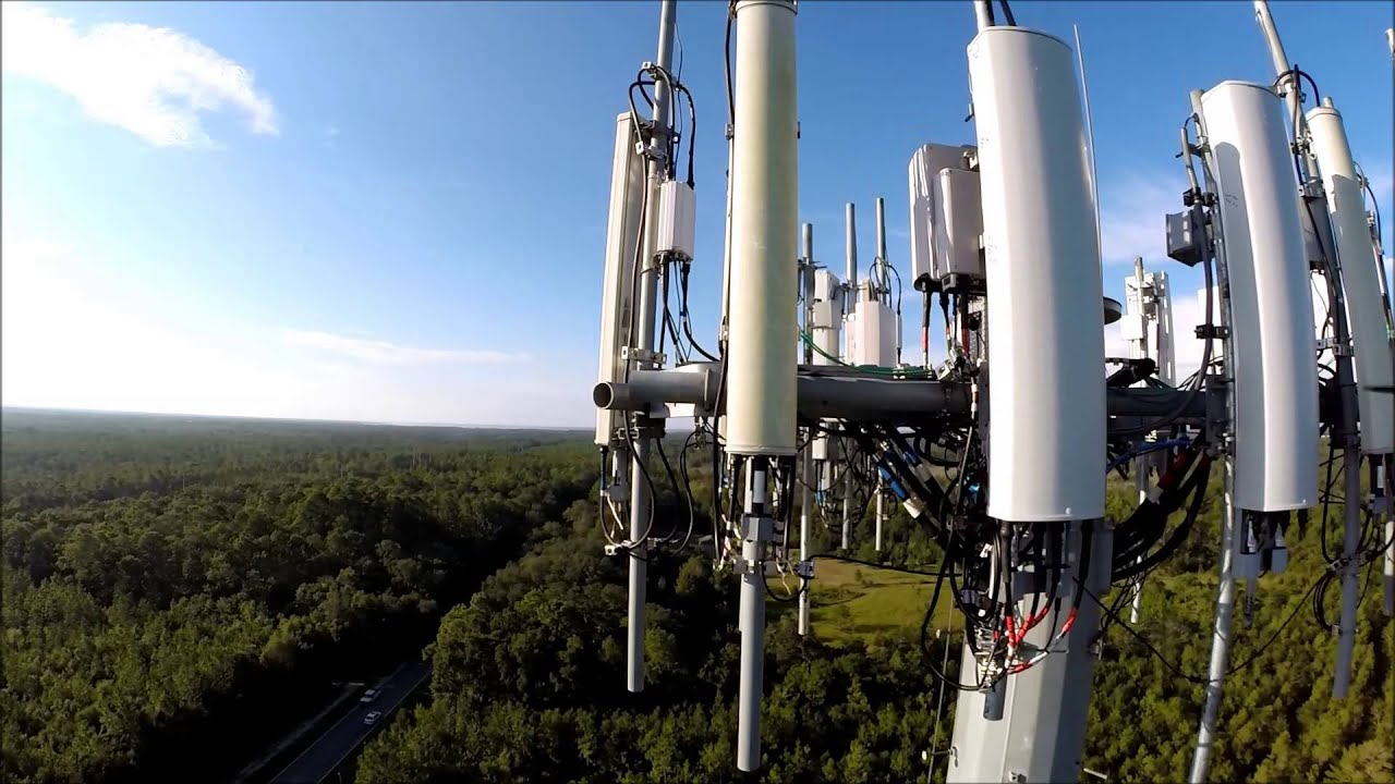 Cell Phone Tower Construction