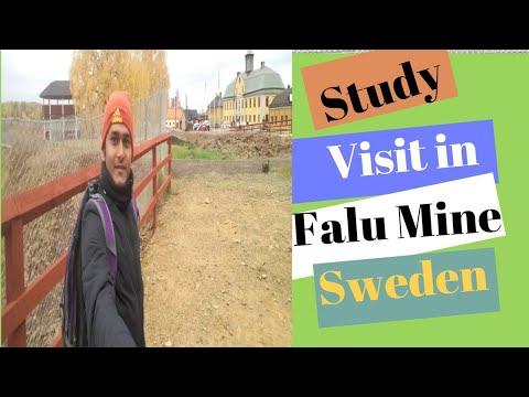 Study Visit In Falu Red Paint Mine,Falun,Sweden