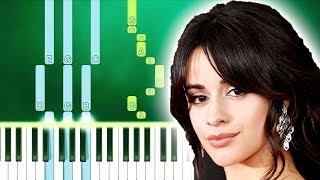 Camila Cabello - First Man (Piano Tutorial Easy) By MUSICHELP
