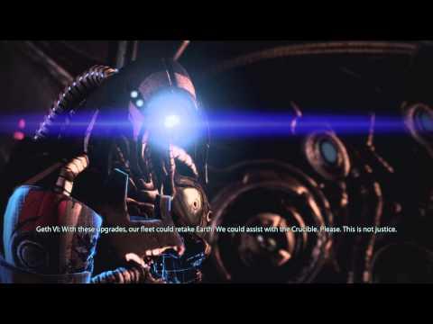 Mass Effect 3: Geth Die, Quarians Survive