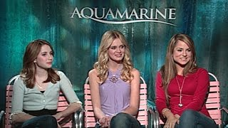 'Aquamarine' Interview